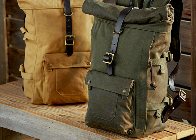 filson - roll-top backpack