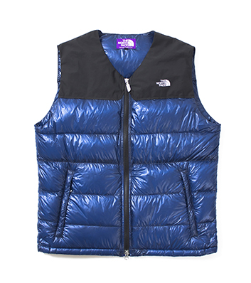 Light Nuptse Vest (Blue)  46193dc5e